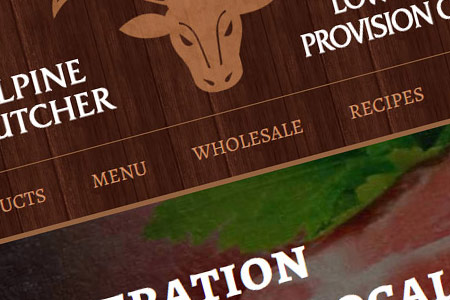 Butcher Website Design NH