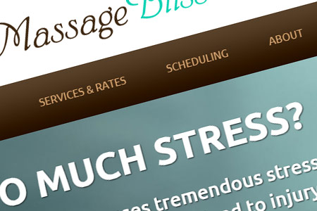 Massage Studio Website Design NH