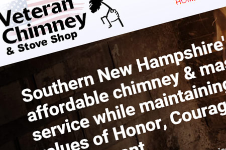 Chimney Service Website Design NH